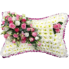 Classic Pillow in Pink and White